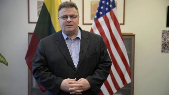 ministrul Afacerilor Externe al Lituaniei, Linas Linkevicius