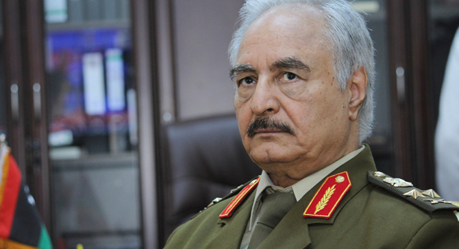 Mareșalul Khalifa Haftar - Libia