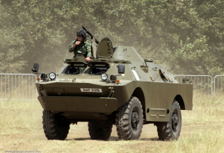 Blindat BRDM-2. Sursă foto: Strategic Bureau of Information