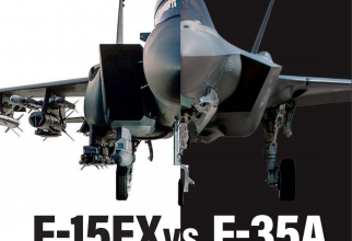F-15EX vs. F-35. Sursă foto: Air Force Association