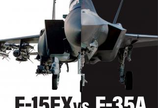 F-15EX vs. F-35. Sursă foto: Air Force Association
