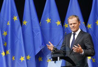 Președintele în exercițiu al Consiliului European Donald Tusk