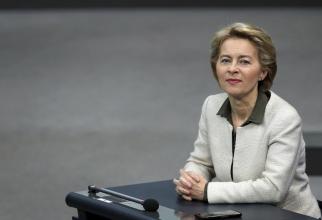 Noul preşedinte al Comisiei Europene, Ursula von der Leyen