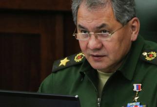ministrului rus al apărării, Serghei Şoigu