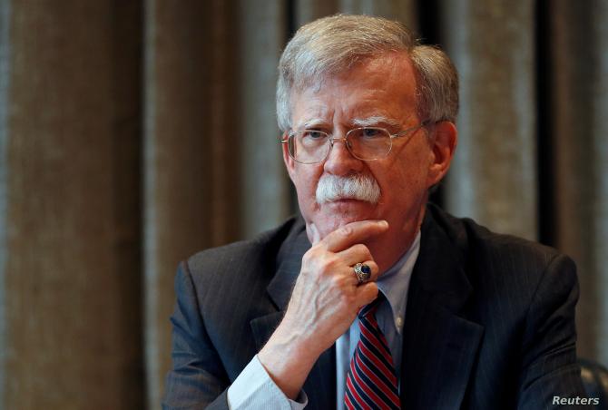 Consilierul pe probleme de securitate natională al președintelui Statelor Unite, John Bolton