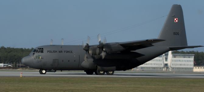 C-130E Hercules, Polonia