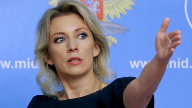 Ministerului rus de Externe, Maria Zaharova