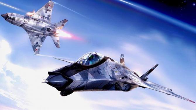 "MiG-41, imagine ""concept art"". Sursă foto: MiG"