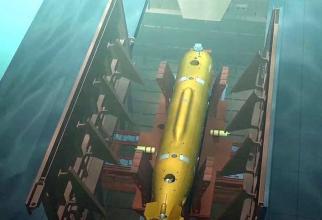 Drona nucleară Poseidon, sursă: Ministerul Apărării din Rusia