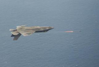 Lansarea unei rachete de pe un F-35, sursă foto: Lockheed Martin, www.f-35.com