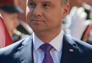 Președintele Poloniei Andrzej Duda