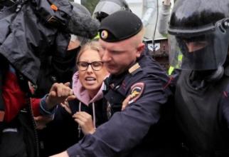 Activista Liubov Sobol a fost arestată