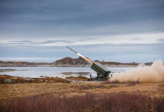 Sistemul antiaerian cu rază medie de acțiune, NASAM, propus Ungariei. Sursă foto: Kongsberg