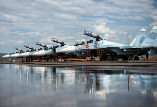 Avioane Su-30. Sursă foto: Ministerul Apărării din Rusia