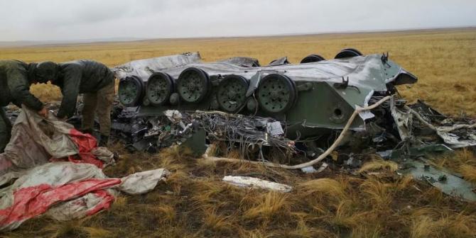 Blindat militar BMP distrus, sursă foto: bmpd.livejournal.com