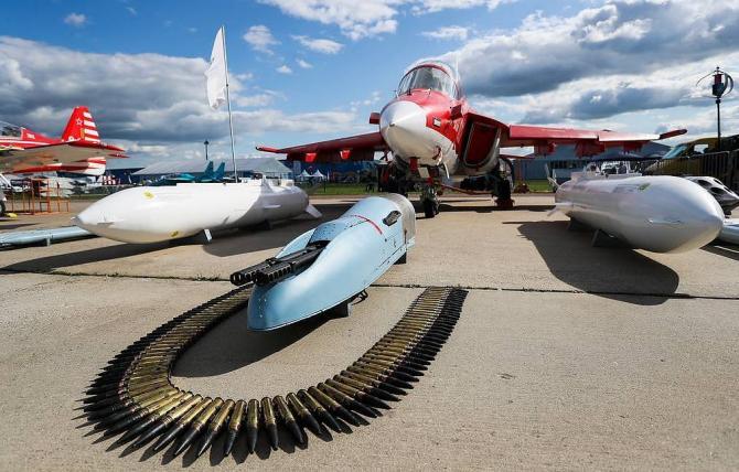 Salonul MAKS-2019 (Salonul Internațional Aviatic și Spațial, care a avut loc la Jukovski, în apropiere de Moscova). Sursa Foto: TASS.com.