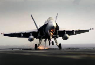 F/A-18C, sursă foto: US Navy