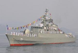 Fregata Alvand Iran
