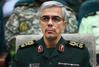 Generalul maior Mohammad Hossein Baqeri șeful Statului Major al Forțelor Armate din Iran
