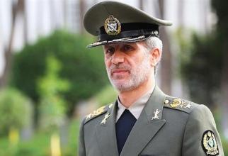 Ministrul Apărării din Iran generalul Amir Hatami