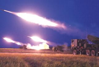 Armata română, trageri de luptă la Smârdan. Sursă foto: Trustul de Presă al MApN