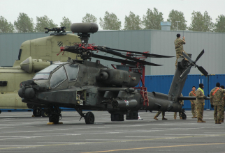 Desfășurarea trupelor SUA în Europa, sursă foto: Scramble Magazine și 21st Theater Sustainment Command