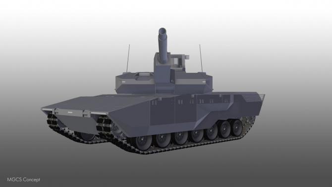 Concept proiect MGCS, 'tancul viitorului'