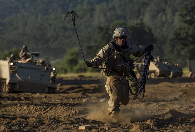 US Army trimite 20.000 de soldați americani împreună cu echipamente militare aferente în Europa, în cadrul DEFENDER-Europa 20, cea mai mare desfășurare militară a SUA de la finalul Războiului Rece. Sursă foto: US Army