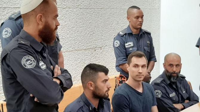 Alexei Burkov flancat de forțele israeliene