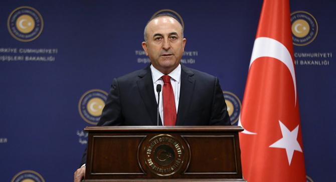 Ministrul de Externe al Turciei Mevlut Cavusoglu