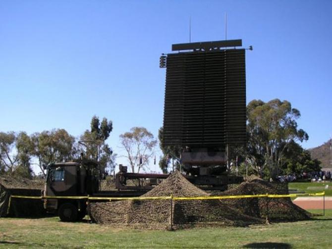 Radarul mobil TPS-77, sursă foto: Departamentul pentru Aramente