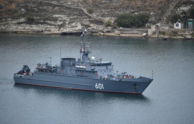 nava de apărare antimină a Flotei ruse din Marea Neagră (FRMN), Ivan Antonov