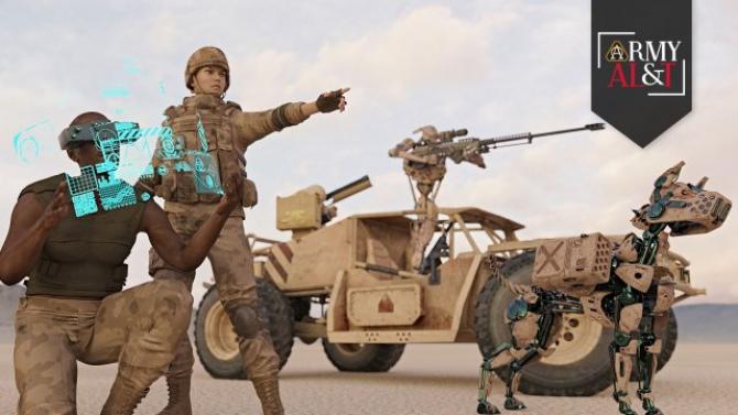 Inteligență artificială, poză cu caracter descriptiv Sursă foto: US Army