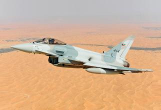 Zborul inaugural al Eurofighter Typhoon, care va ajunge sub comanda Kuweitului. Sursă foto: Eurofighter