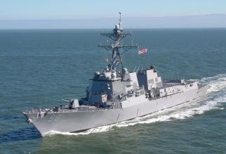 Distrugătorul USS Forrest Sherman, sursă foto: USS Forrest Sherman Facebook