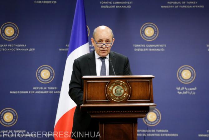 Ministrul de Externe al Franței, Jean-Yves Le Drian