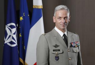 Generalul Francois Lacointre șeful Statului Major al Armatei Franceze