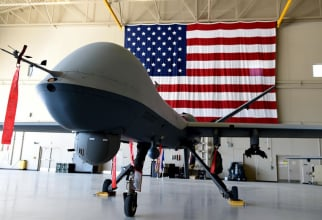 Drona MQ-9 Reaper, sursă foto: US Air Force