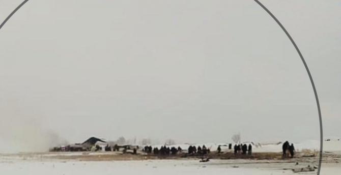 Avion prăbușit în Afganistan, sursă foto: JACDEC Twitter