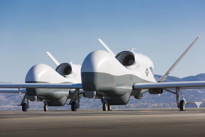 Drone MQ-4C Triton, sursă foto: Northrop Grumman