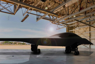 Bombardierul nuclear B-21, aflat în dezvoltare în SUA