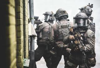 Trupe speciale antitero GSG 9, Germania. Sursă foto: Bundespolitzei