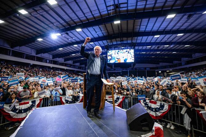 Bernie Sanders, unul dintre candidații democrați la alegerile primare pentru confruntarea finală cu Donald Trump. Sursă foto: Bernie Sanders Facebook