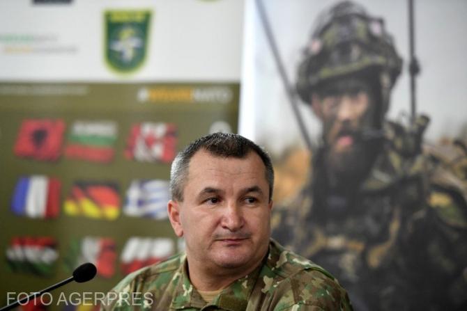 Șeful Statului Major al Apărării (SMAp), generalul-locotenent Daniel Petrescu