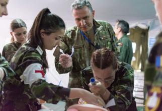 Personal militar medical, sursă foto: Institutul Medico-Militar al MApN