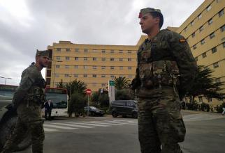 Armata spaniolă, pe străzile din țară, în lupta împotriva COVID-19, sursă foto, Ministerul Apărării de la Madrid. Ministerio de Defensa Espana Facebook