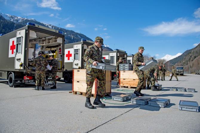 Armata Elveției, sursă foto: Swiss Armed Forces, https://www.vtg.admin.ch/en/home.html