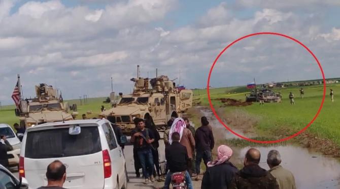 Convoi rusesc, blocat de US Army, sursă foto: https://upnewsinfo.com/