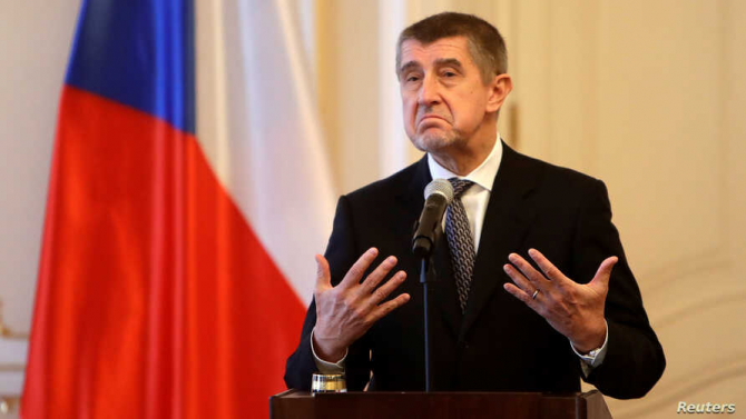 Premierul ceh, Andrej Babis