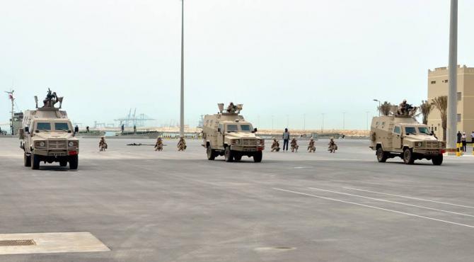 Imagine dintr-o misiune a Armatei Egiptului, sursă foto: Facebook Egypt Armed Forces